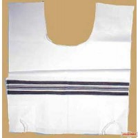 New  Lightweight Chabad Wool Talis Katan - 24""