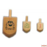 Wood Dreidel - Small