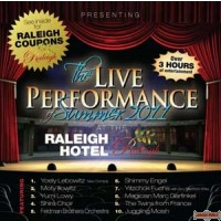 Live Performance at the Raleigh Hotel DVD
