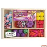 Chanukah Wood Beads Kit