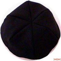 Terylene Yarmulka (6 Part Cloth kippa)