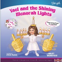 Yael and the Shining Menorah Lights Book/CD