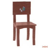 Children's Chair - Brown